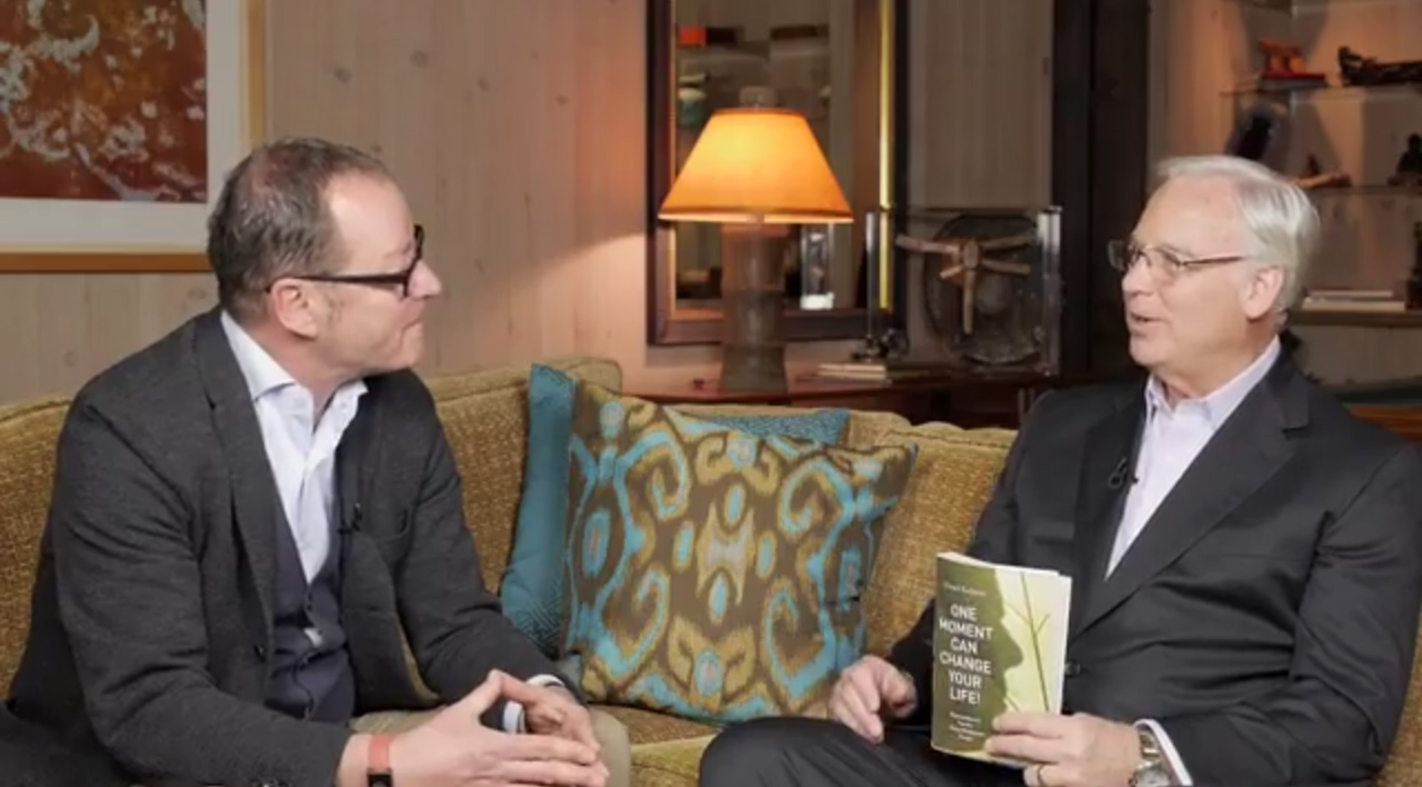 Jack Canfield (co-author of the bestselling series Chicken Soup for the Soul), and author of The Success Principles interviews Ulrich Kellerer (author of One Moment Can Change Your Life)